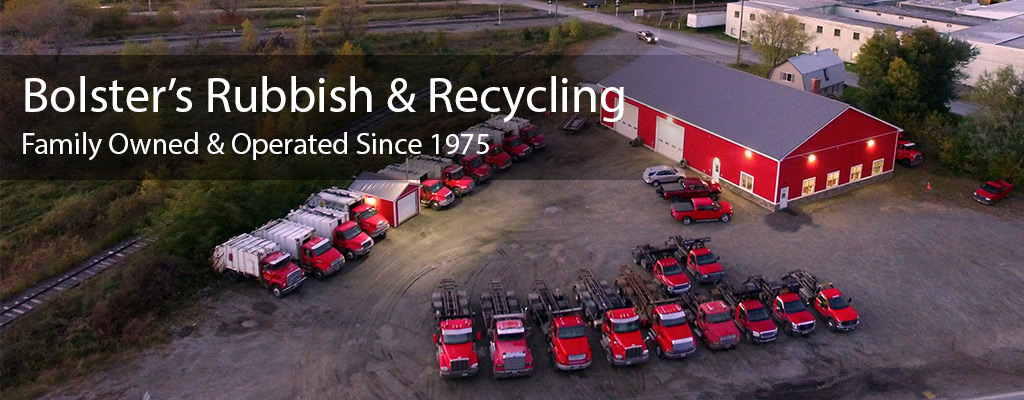Bolster S Rubbish Recycling Maine Rubbish Garbage Trash Removal Curbside Pickup Dumpsters Debris Removal Located In Burnham Maine
